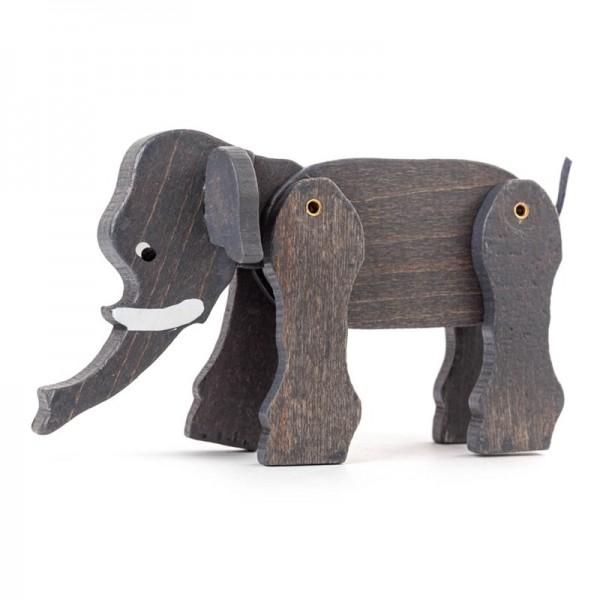 Dregeno Erzgebirge - Miniatur-Elefant, beweglich