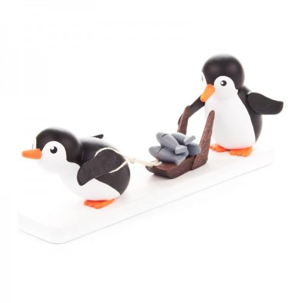 Dregeno Erzgebirge - Miniatur-Pinguin Fischhändler
