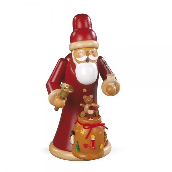 Müller Räuchermann groß Weihnachtsmann mit Geschenke 23cm