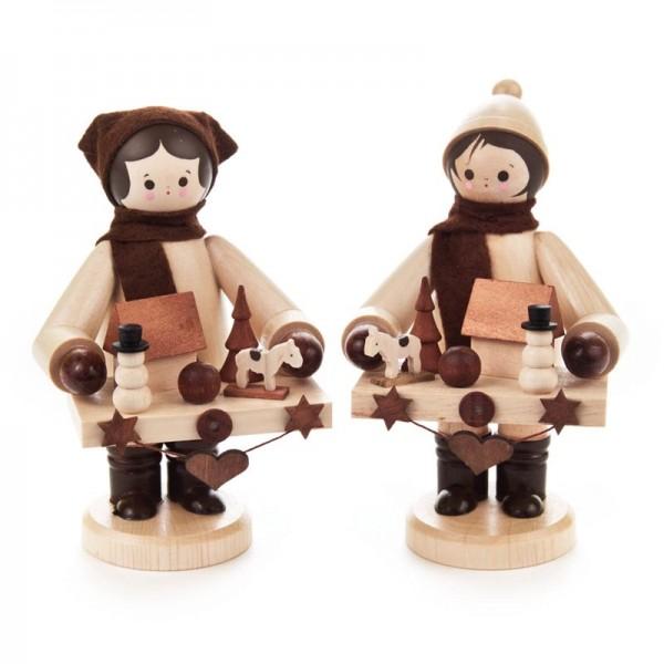 Dregeno Erzgebirge - Miniatur-Striezelkinder, groß, natur