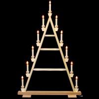 Holzkunst Niederle - Lichterspitze 4 Etagen - leer