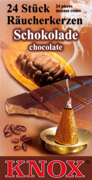 Dregeno Erzgebirge - KNOX Räucherkerzen Schokolade (24)