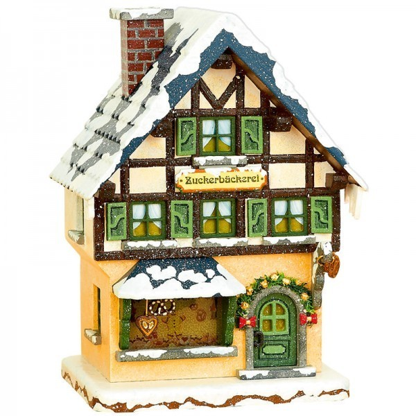 Hubrig Neuheit 2014 - Winterhaus Zuckerbäckerei