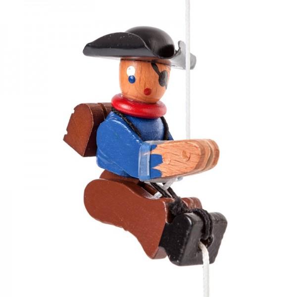 Dregeno Erzgebirge - Miniatur-Kletterfigur Pirat