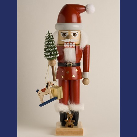 KWO Nussknacker Erzgebirge Santa Claus 29cm