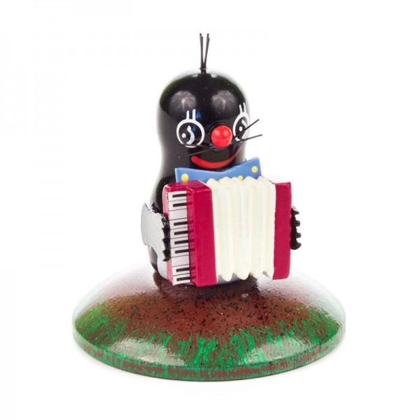 Dregeno Erzgebirge - Miniatur-Maulwurf, Musikant, Keyboard
