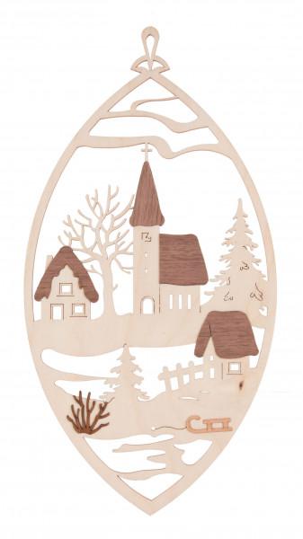 Dregeno Erzgebirge - Fensterbild Kirche