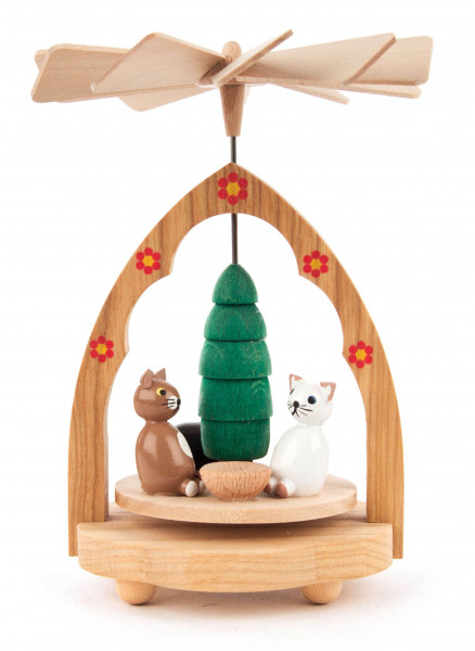 Dregeno Erzgebirge - Wärmespiel mit Katzen und Baum
