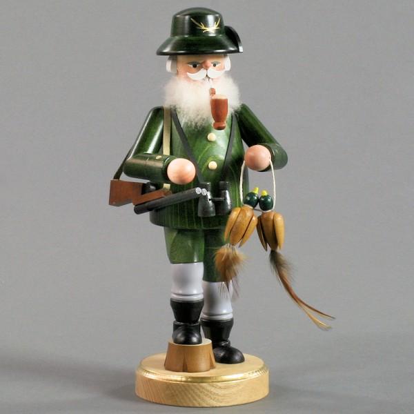 Dregeno Erzgebirge - Räuchermann Förster mit Fasan - 24cm
