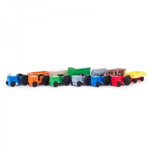 Dregeno Erzgebirge - Miniatur-Traktoren, farbig sortiert, Satz