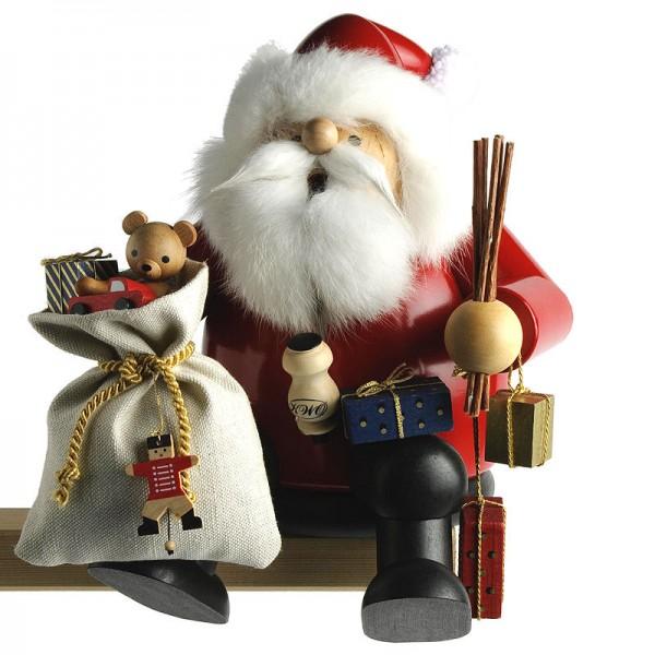 KWO Räuchermann - Kantenhocker Weihnachtsmann groß