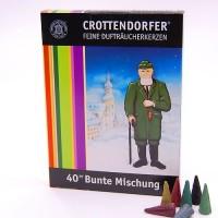 Crottendorfer Räucherkerzchen Bunte Mischung Großpackung