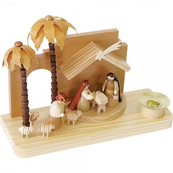 Richard Glässer Kerzenhalter Christi Geburt orientalisch