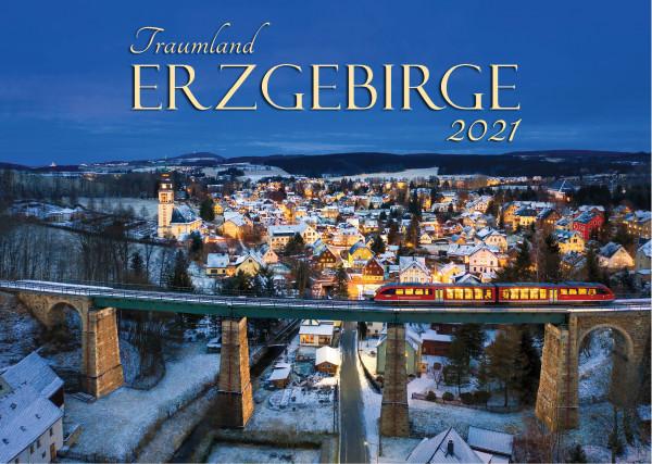 Der große Kalender Traumland Erzgebirge 2021