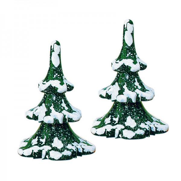 Hubrig Winterkinder 2er Set Winterbaum klein - 6cm