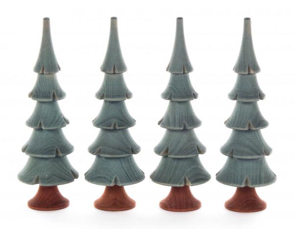 Dregeno Erzgebirge - Massivholzbäume grün, 11cm (4)