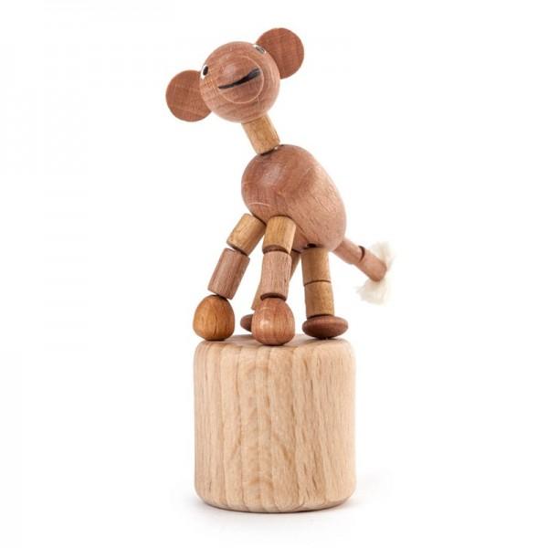 Dregeno Erzgebirge - Miniatur-Wackeltier Affe