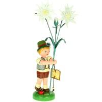 Hubrig Blumenjunge 24cm Edelweiß