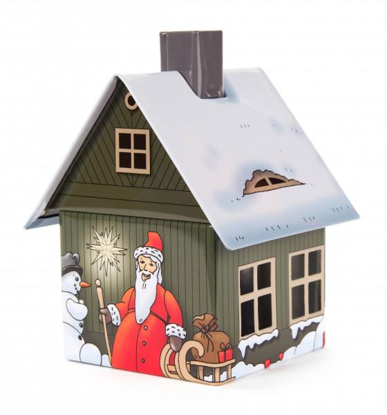 Dregeno Erzgebirge - Räucherhaus Metall »Weihnachtsmotiv«