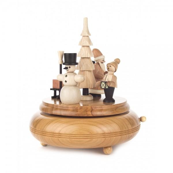 Dregeno Erzgebirge - Spieldose Weihnachtszeit, 18-stimmiges Spielwerk