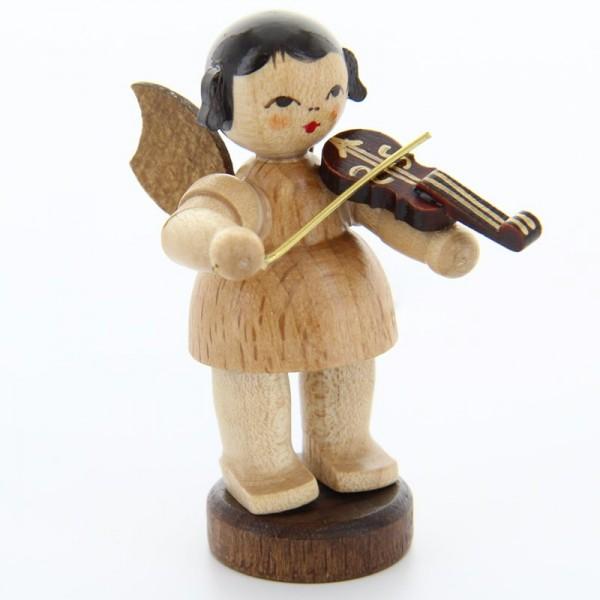 Uhlig Engel stehend mit Violine, natur, handbemalt