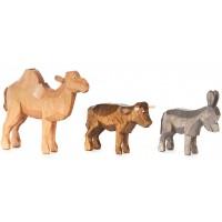 Dregeno Erzgebirge - Kamel, Esel und Ochse