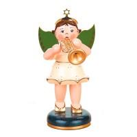 Hubrig Engel mit Trompete 16cm