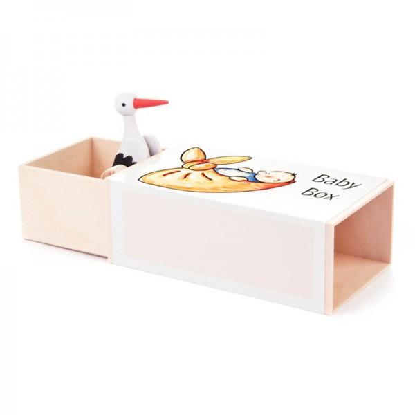 Dregeno Erzgebirge - Miniatur-Musikdose Babybox