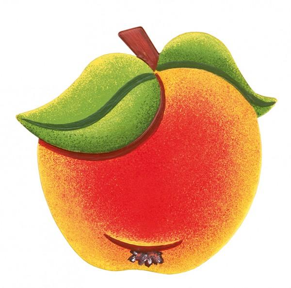 Hubrig Magnetpin Apfel