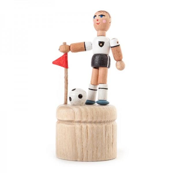 Dregeno Erzgebirge - Miniatur-Wackelfigur Fußballspieler, sortiert