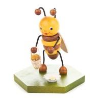 Dregeno Erzgebirge - Biene mit Blumenkorb