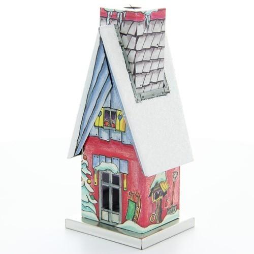 HELA Räucherhäusel - Winterhäusel mit Spitzdach