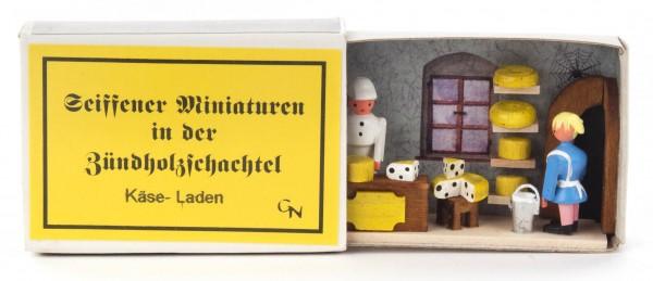 Dregeno Erzgebirge - Zündholzschachtel Käse-Laden