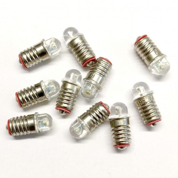 Hubrig - LED Ersatzlämpchen E5,5 3,5V - 10 Stück