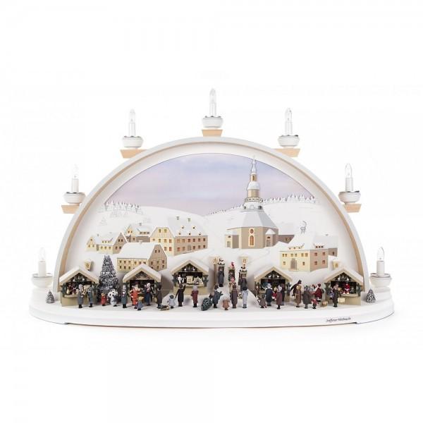 Dregeno Erzgebirge - Kolbe Schwibbogen Seiffener Weihnachtsmarkt