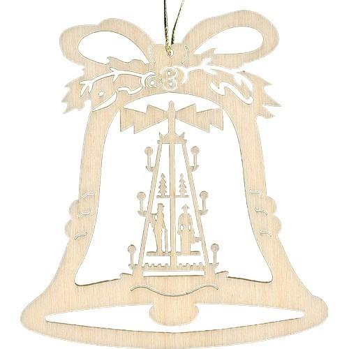 Lenk & Sohn Baumbehang Glocke Motiv Pyramide