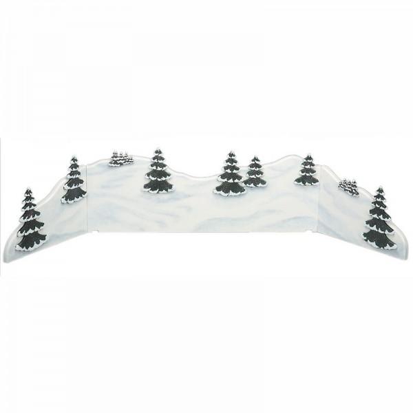 Hubrig Winterlandschaft Diorama 115x24cm