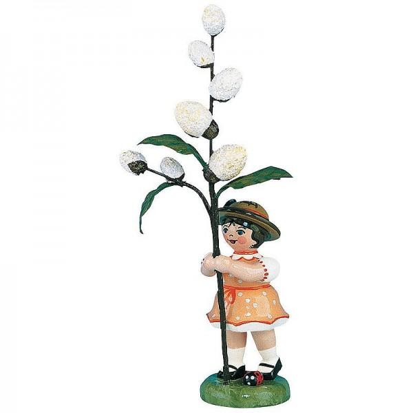Hubrig Blumenmädchen 11cm Blumenkind mit Maikätzchen