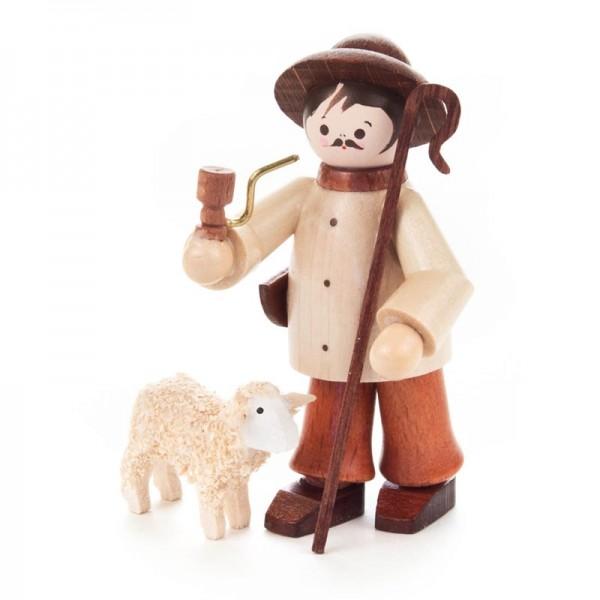 Dregeno Erzgebirge - Miniatur-Hirte mit Schaf