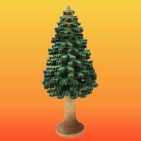 Lenk & Sohn Erzgebirgischer Schichtenbaum Nadelbaum 12cm grün