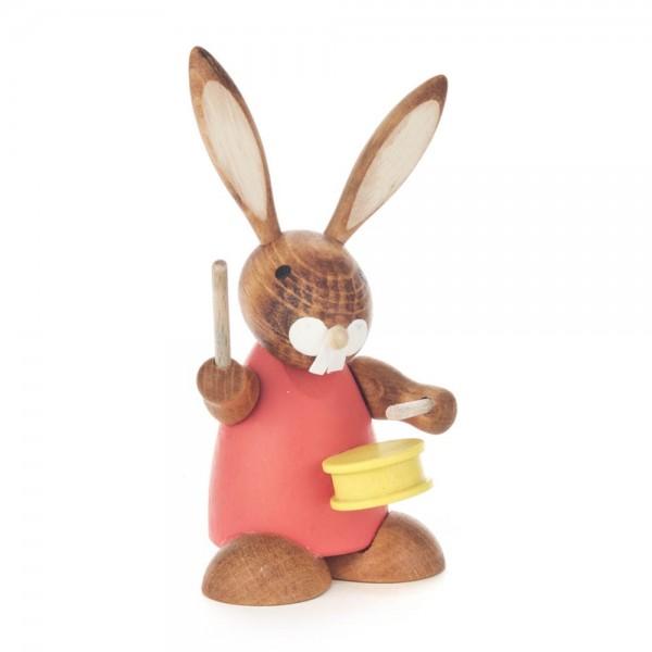 Dregeno Erzgebirge - Hase rot mit Trommel