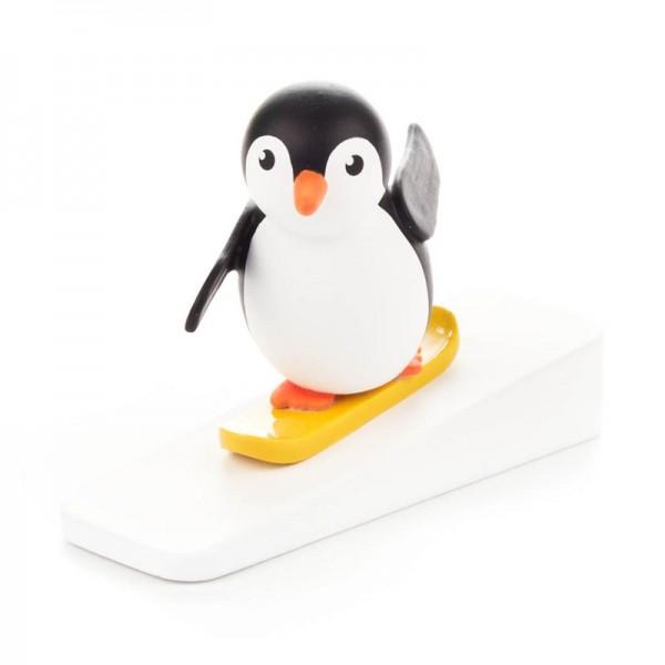 Dregeno Erzgebirge - Miniatur-Pinguin Snowboardfahrer