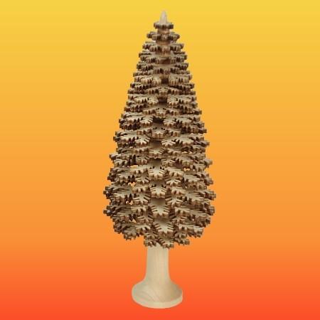 Lenk & Sohn Erzgebirgischer Schichtenbaum Nadelbaum 20cm natur