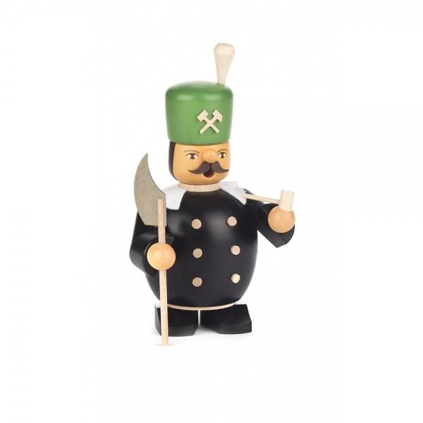 Dregeno Erzgebirge - Miniatur-Räuchermann Bergmann