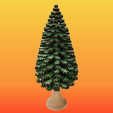 Lenk & Sohn Erzgebirgischer Schichtenbaum Nadelbaum 30cm grün