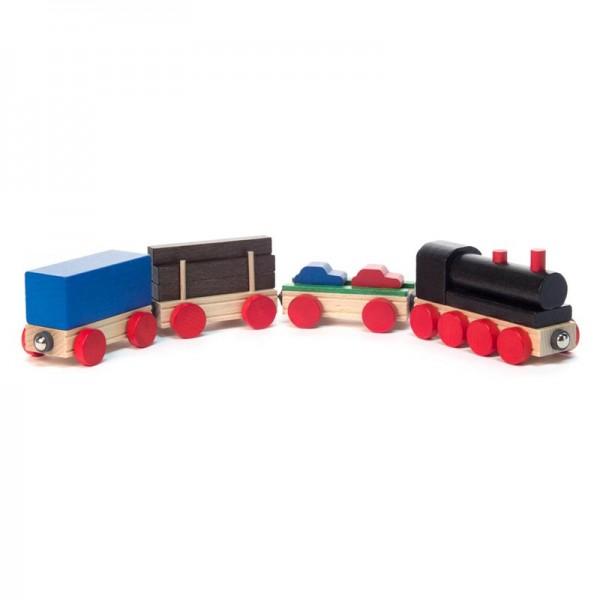 Dregeno Erzgebirge - Miniatur-Eisenbahn, 12-teilig, zerlegbar, mit Magnetkupplung