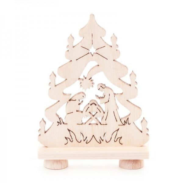 Dregeno Erzgebirge - Miniatur-Tanne, Motiv Christi Geburt