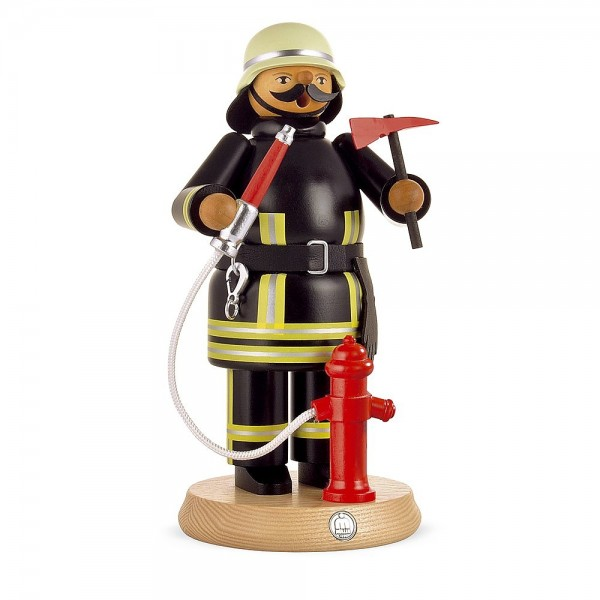 Müller Räuchermann groß Feuerwehrmann aktuell 24cm