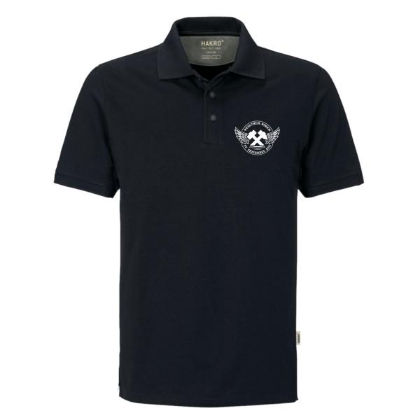 Veilchenbiker Polo Shirt HAKRO - Bestickt - Herren
