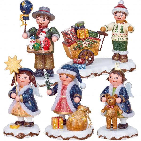 Hubrig Neuheit 2018 - Set 1 - Winterkinder - Himmelskinder, Spielzeughändler, Geschenkekind
